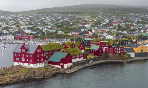 Havnen i Tórshavn, Færøerne - Risskov Rejser