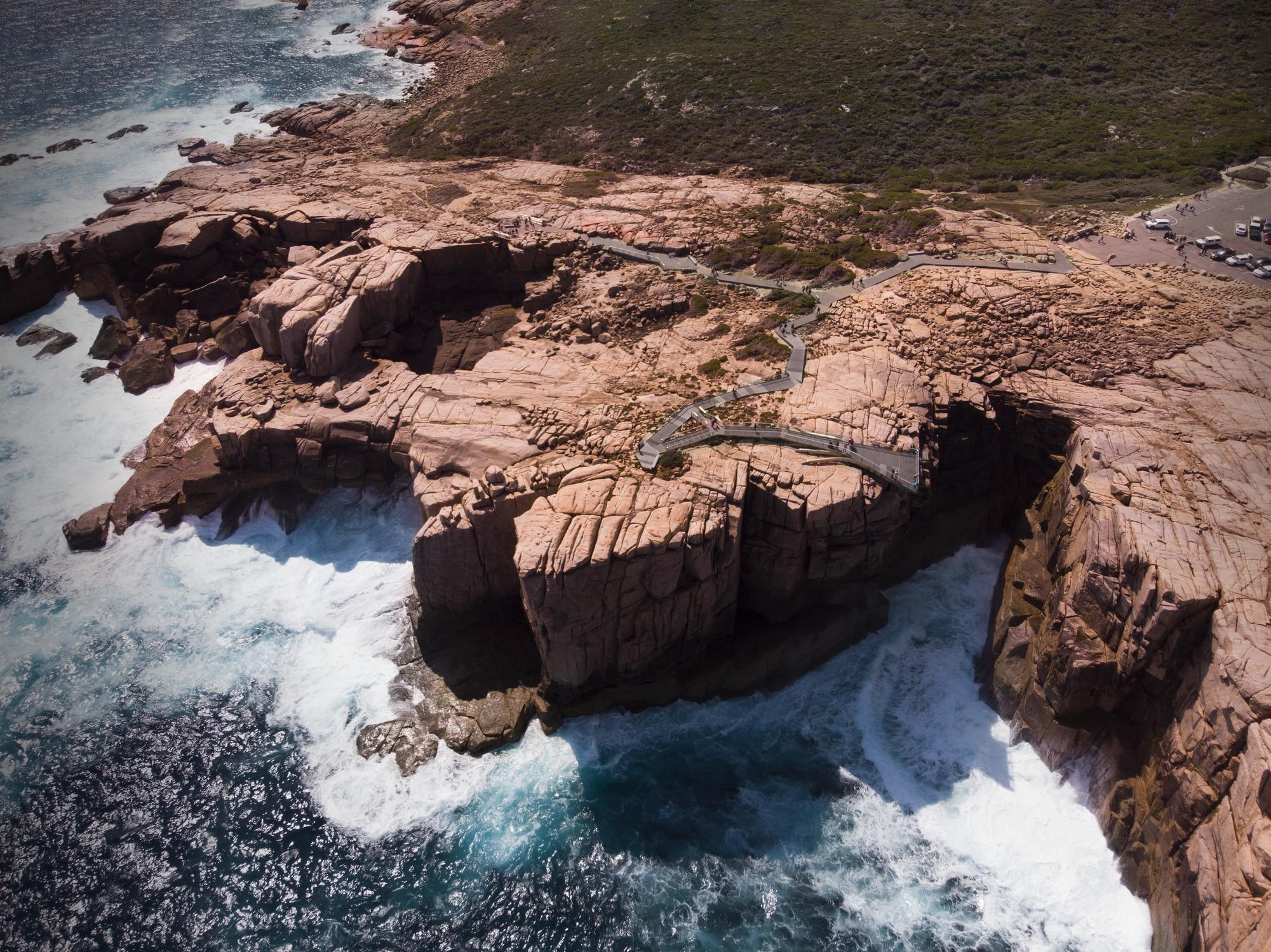 Torndirrup National Park i Australien
