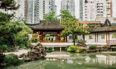 Chinese Garden i Vancouver