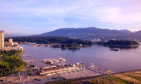 Vandfly og Stanly Park i Vancouver