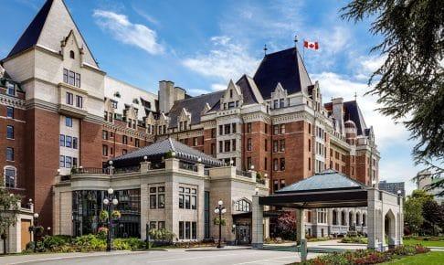Canada, Det historiske hotel Fairmont Empress i Victoria