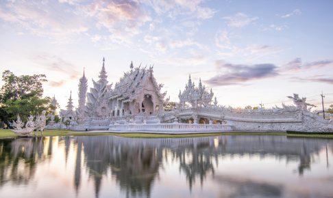 Det hvide tempel i Chiang Rai