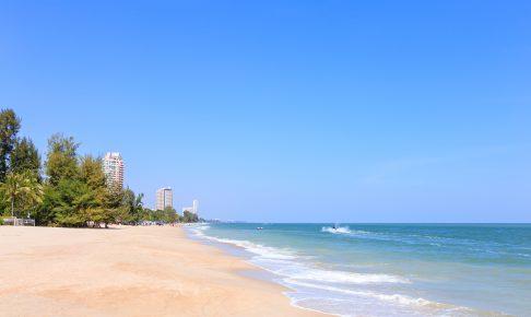 Cha Am-stranden Hua Hin