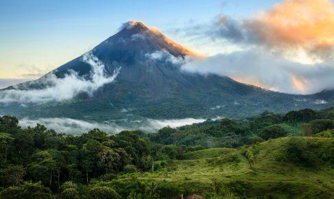 Udsigt til vulkanen Arenal