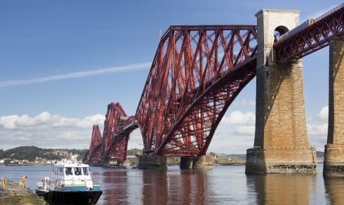 Forth Railway Bridge, Skotland - Risskov Rejser
