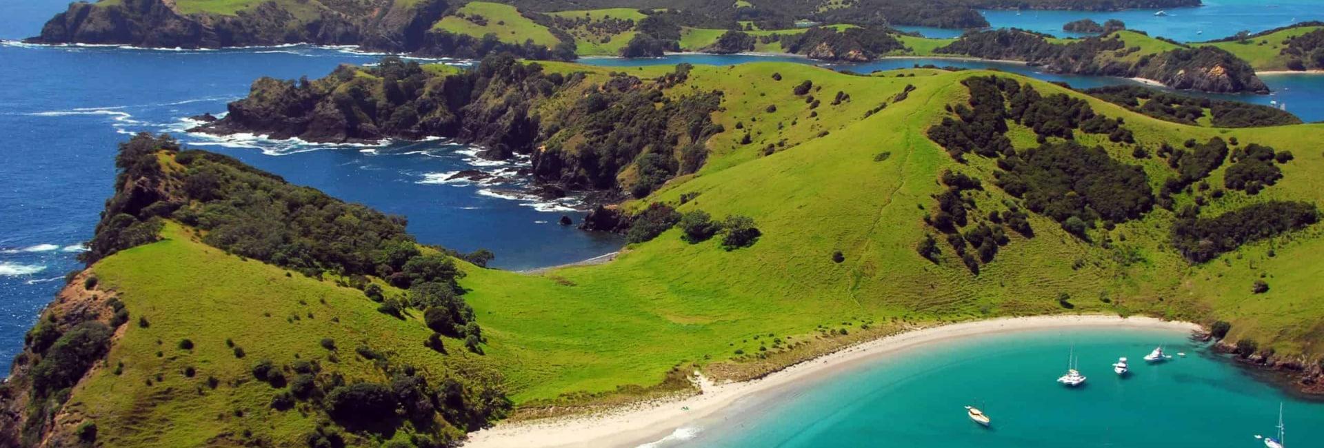 Bay of Islands i New Zealand