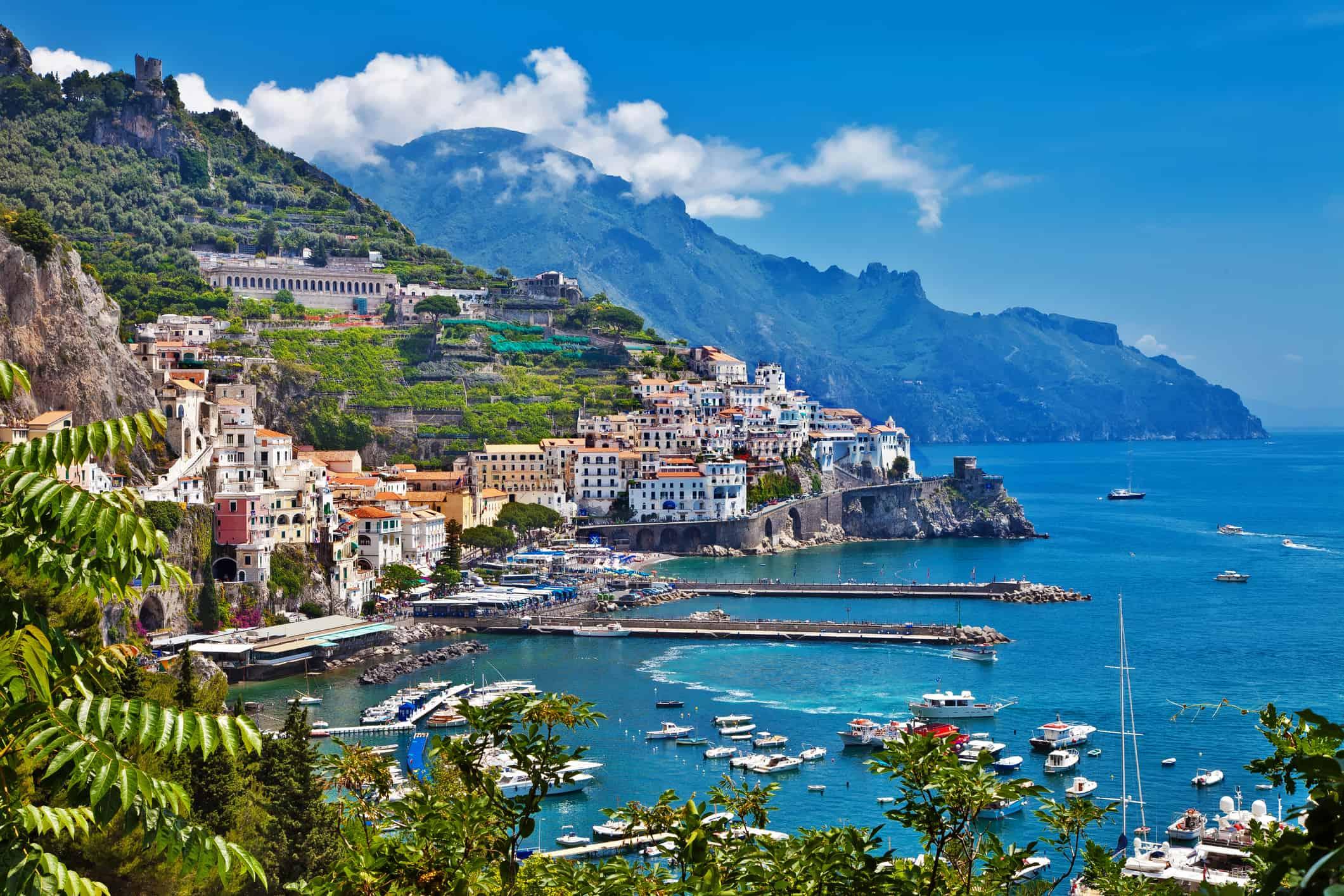 Amalfi, Italien - Risskov Rejser