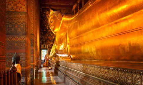 Liggende Buddha, Wat Pho, Bangkok