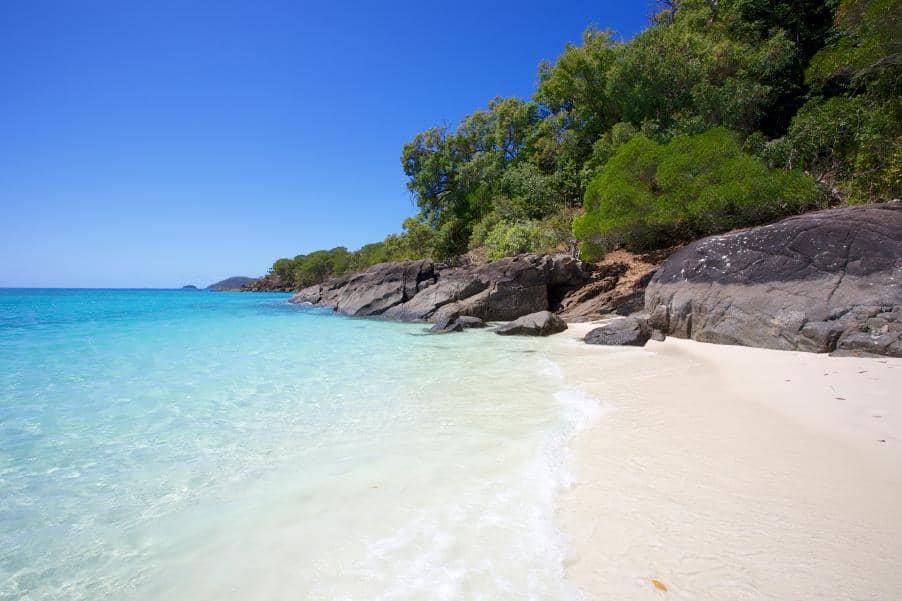 Whitehaven beach klima
