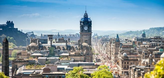 Edinburgh, Skotland - Risskov Rejser