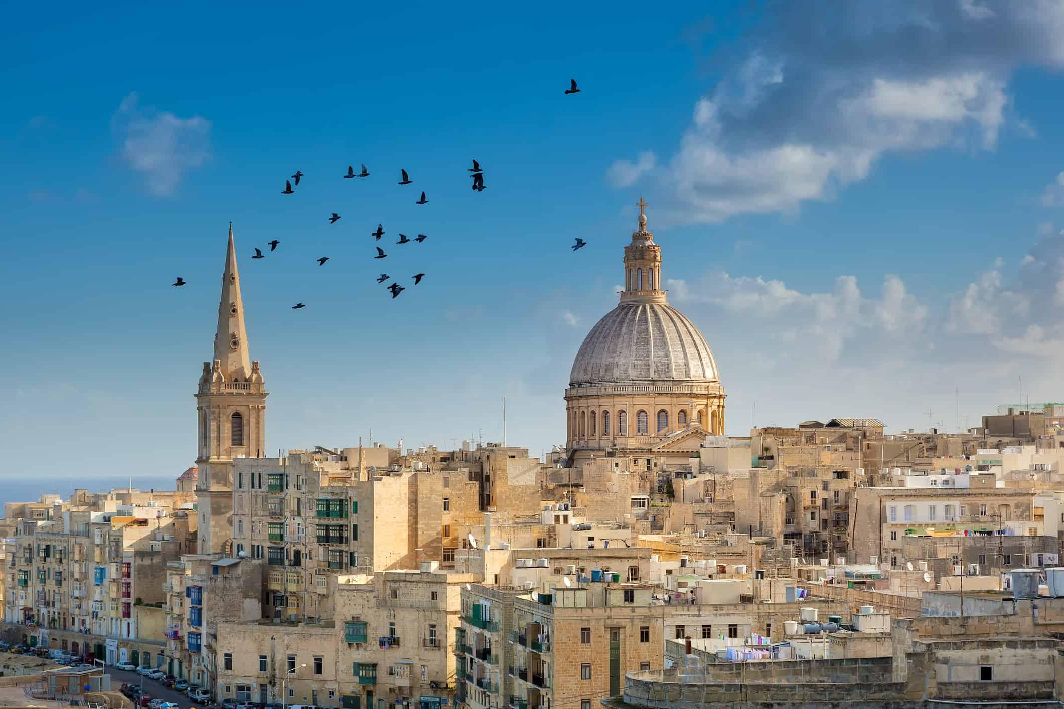 Valleta, Malta - Risskov Rejser