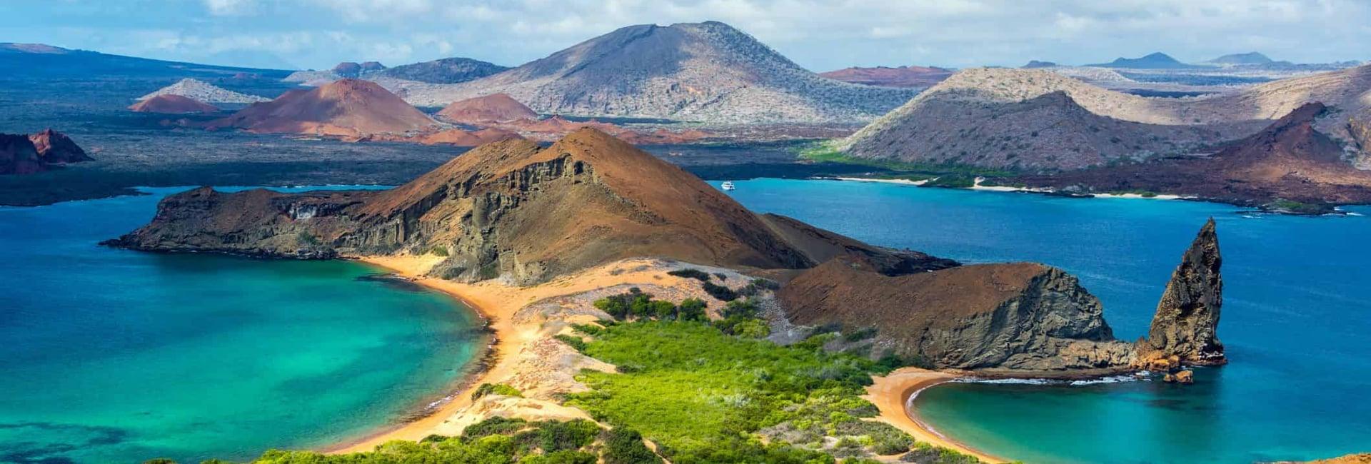 Udsigt over Galapagos