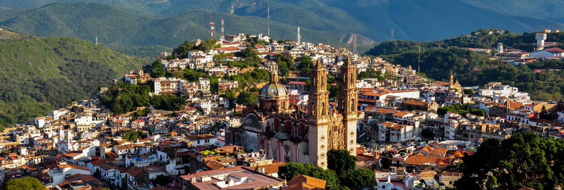Byen Taxco i Mexico