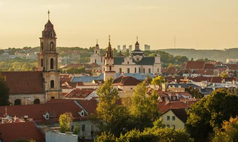 Vilnius, Litauen - Risskov Rejser