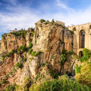 Puente Nuevo-broen i Ronda, Spanien