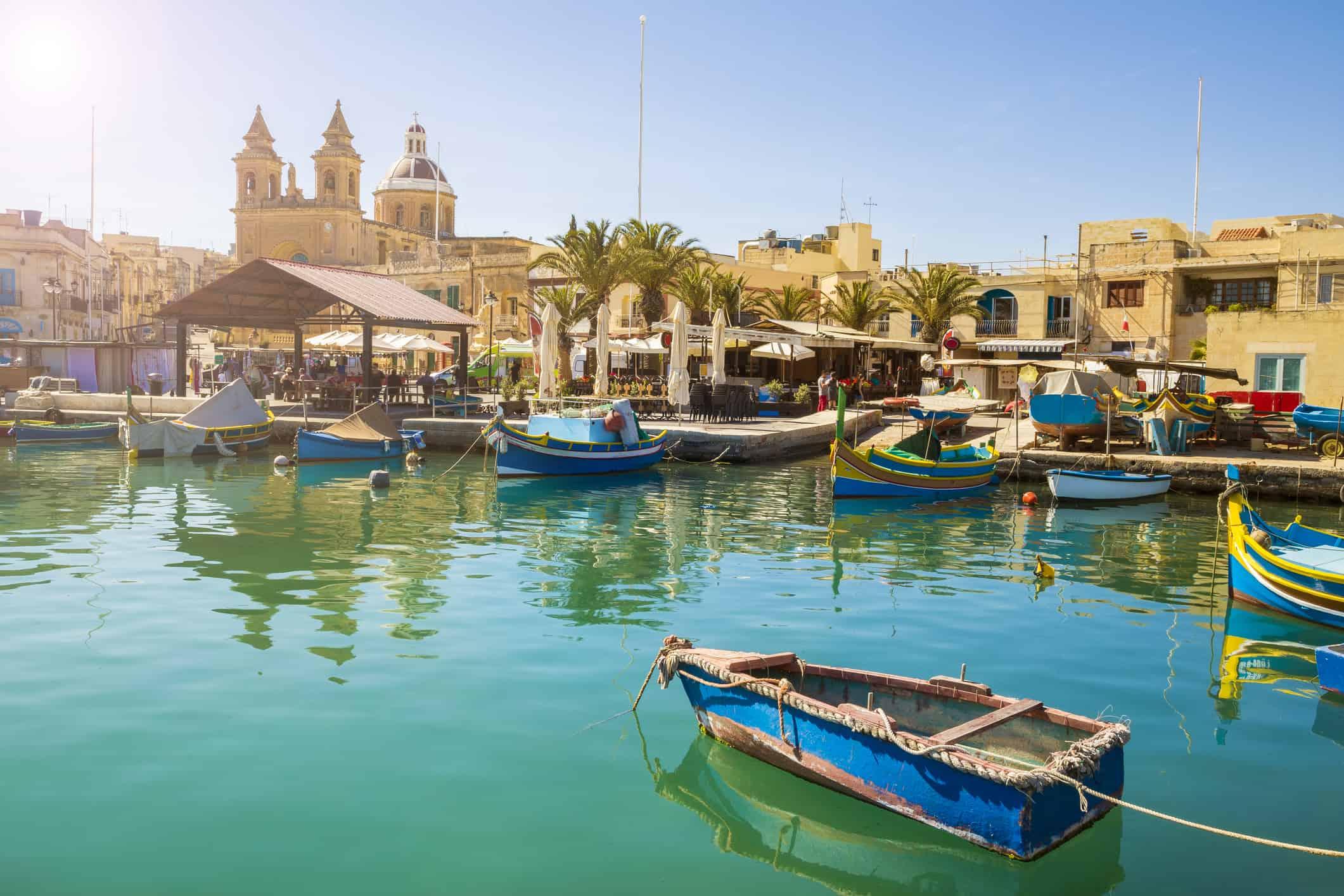 Marsaxlokk, Malta - Risskov Rejser