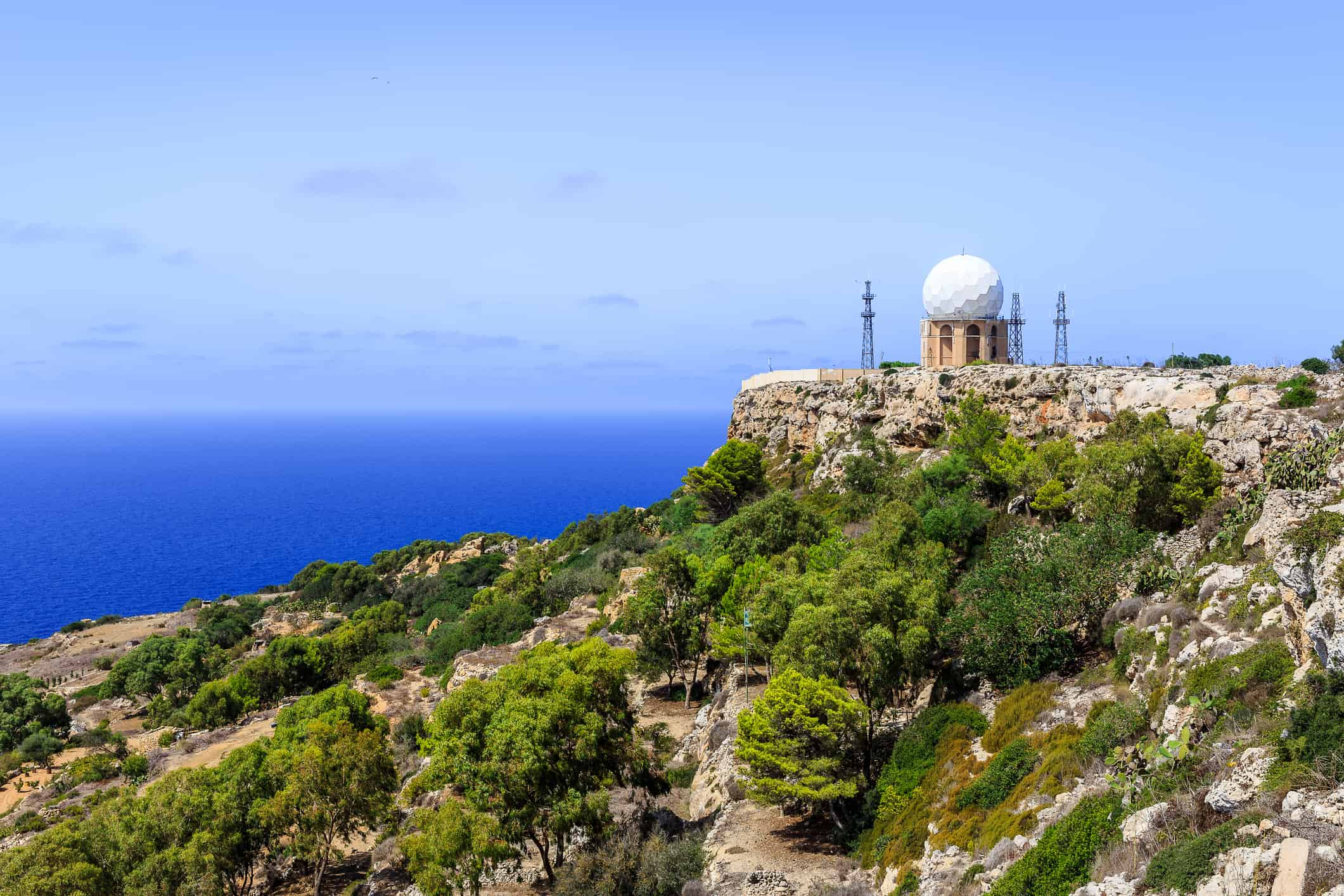 Dingli Cliffs, Malta - Risskov Rejser