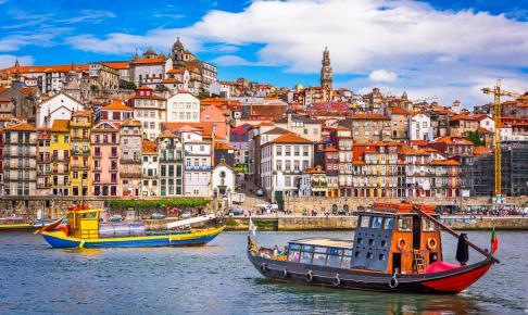 Douro-floden, Porto, Portugal - Risskov Rejser