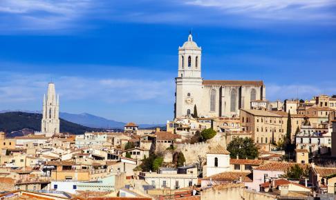 Girona gamle bydel, Spanien - Risskov Rejser