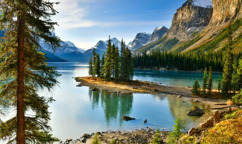 Maligne Lake, Canada - Risskov Rejser