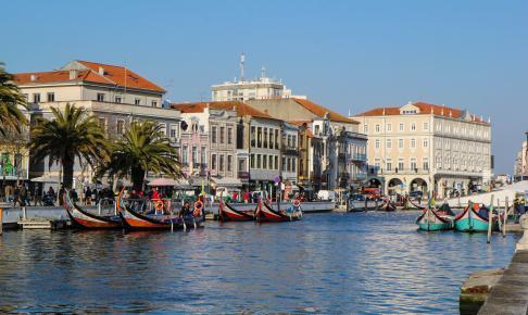 Kanalen i Aveiro Portugal - Risskov Rejser