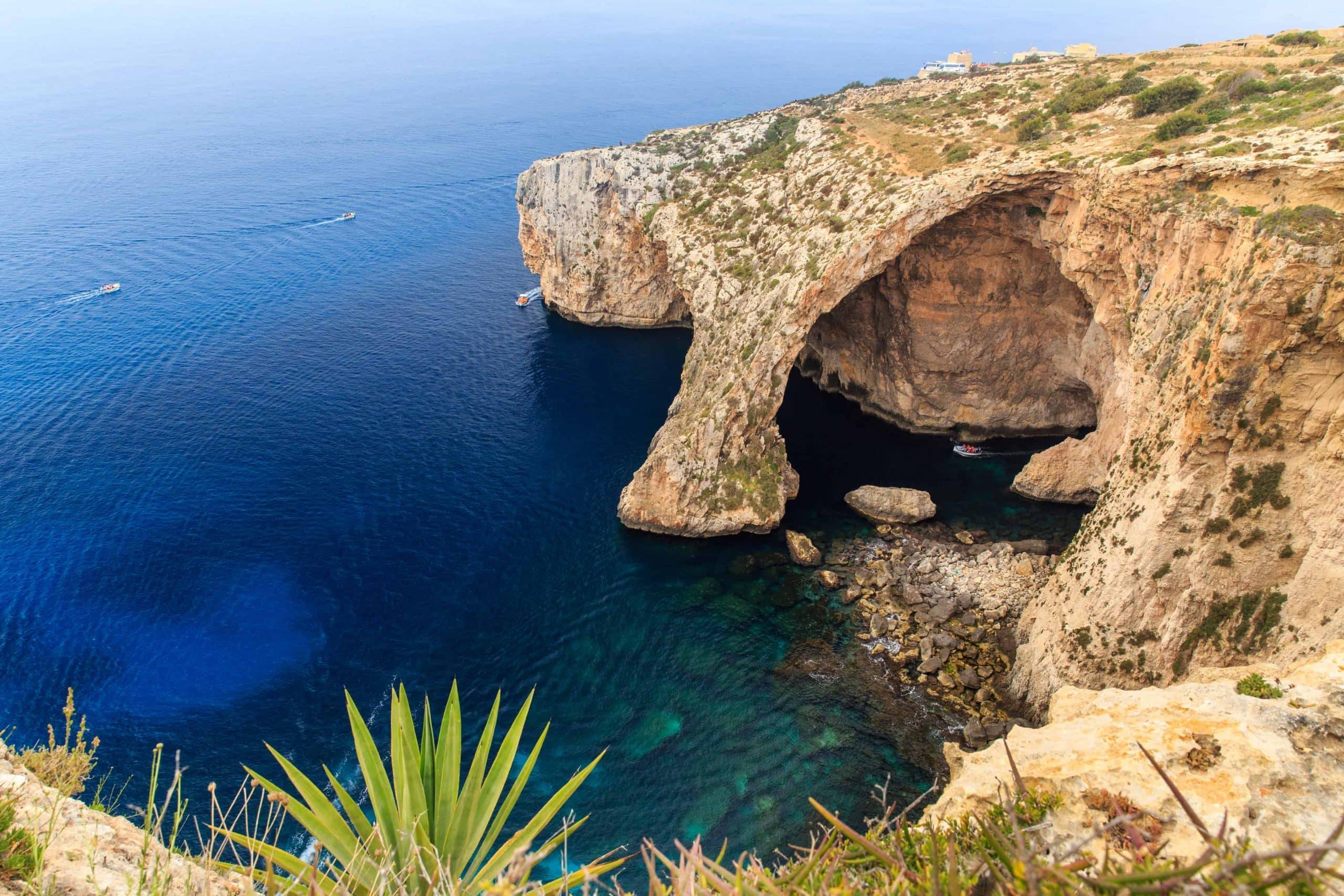 Den Blå Grotte, Malta - Risskov Rejser