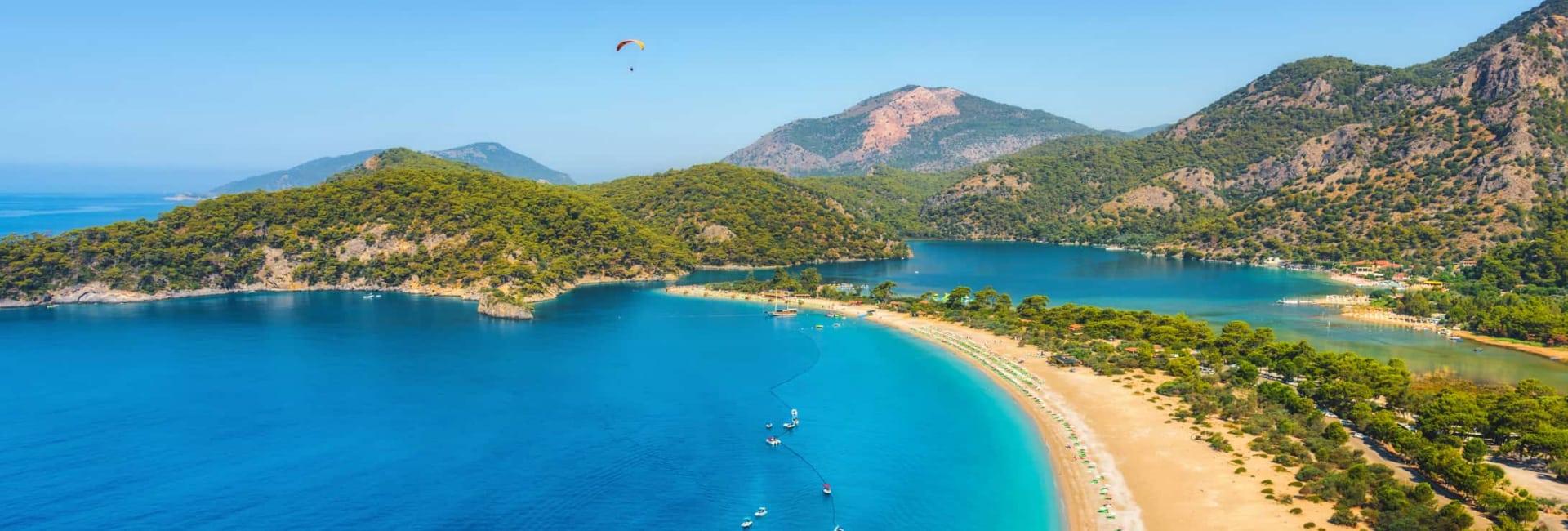 Tyrkiets varme sandstrande