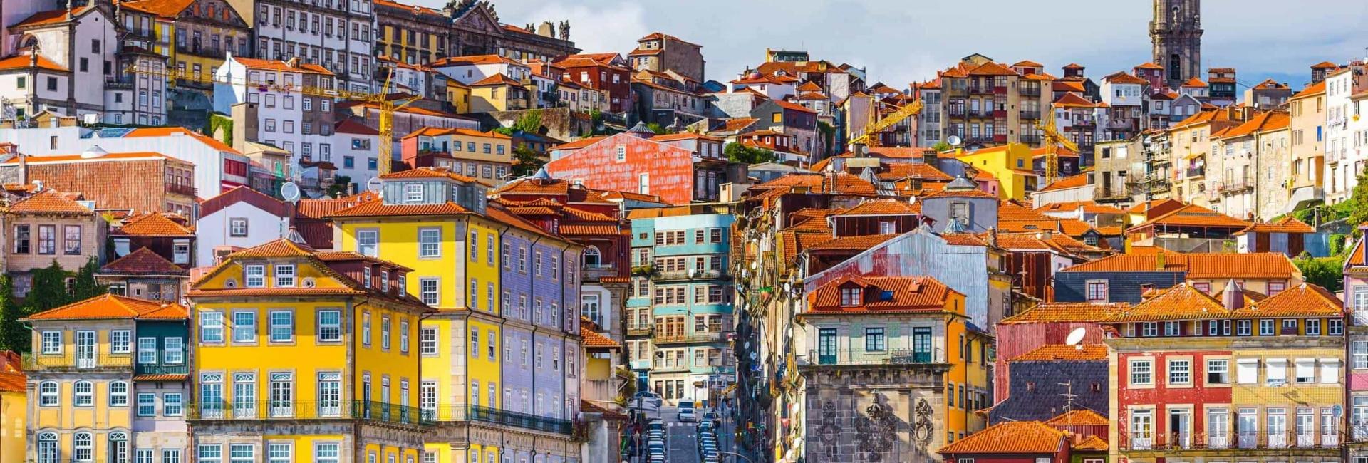 Portos farverige huse