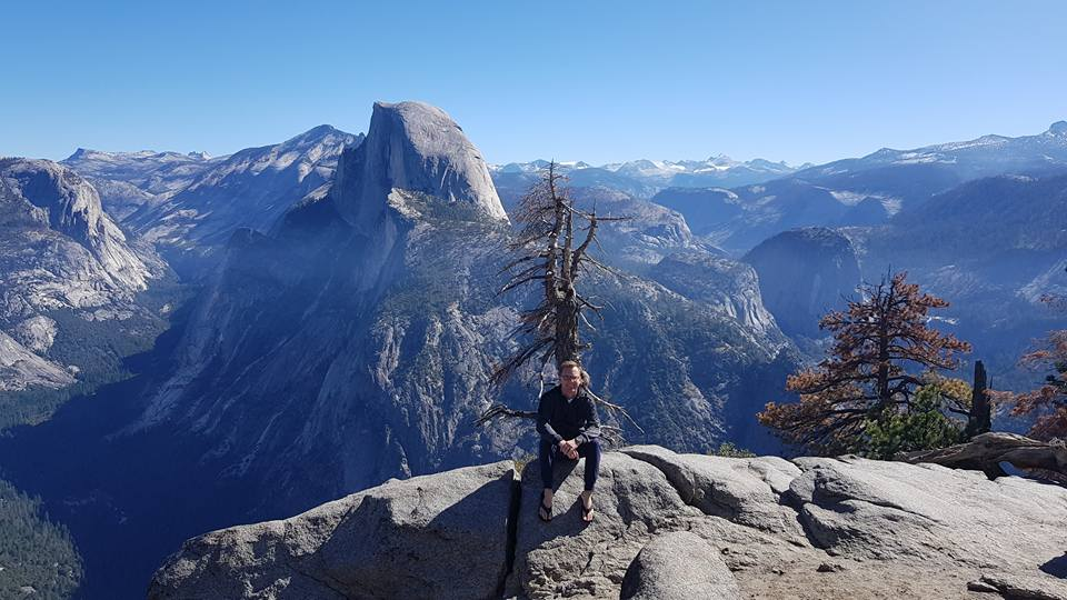 Thomas Kirkeby Krogh i Yosemite USA - Risskov Rejser